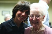 Alex and Grandmommie